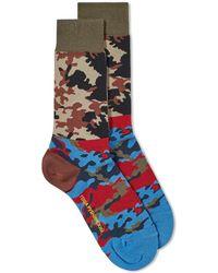 Gosha Rubchinskiy - Camouflage Socks - Lyst
