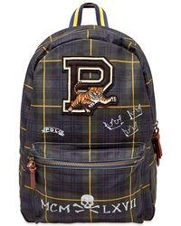 9663898999 Polo Ralph Lauren - Black Watch Tartan Patch Backpack - Lyst