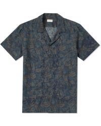 Dries Van Noten - Short Sleeve Carlton Embroidered Vacation Shirt - Lyst