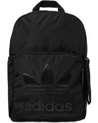 f2761b439b Lyst - Adidas Originals Classic Trefoil Backpack in Black for Men