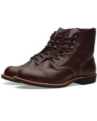 "Red Wing - 8119 Heritage 6"" Iron Ranger Boot - Lyst"