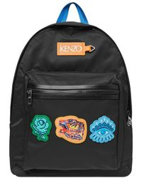 KENZO - Backpack 'go Tigers!' - Lyst