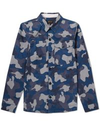 Barbour - Heritage Camo Heavy Overshirt Jacket - Lyst