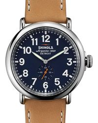 Shinola - Runwell 47mm Watch - Lyst