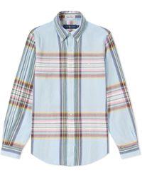 Polo Ralph Lauren - Madras Button Down Shirt - Lyst