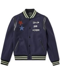 80f8e5cd7 Gucci Heritage Jacket With Bees And Stars in Natural for Men - Lyst
