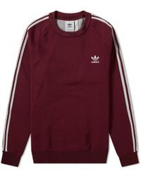 adidas - Knitted Crew Sweat - Lyst