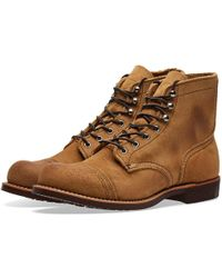 """Red Wing - 8083 Heritage 6"""" Iron Ranger Boot - Lyst"""