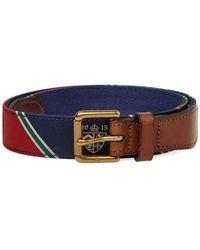 Polo Ralph Lauren - Varsity Patchwork Belt - Lyst