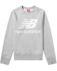New Balance - Essentials Stacked Sweat - Lyst