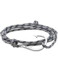 Miansai | Silver Hook Rope Bracelet | Lyst