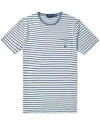 Polo Ralph Lauren - Stripe Pocket Tee - Lyst