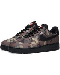 Nike Air Force 1 '07 We 'camo Pack' Italy - Brown
