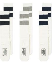 Neighborhood - Long Sock - 3 Pack - Lyst