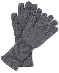 Y-3 - Classic Logo Gloves - Lyst