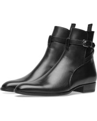 Saint Laurent - Wyatt 30 Jodhpur Boot - Lyst