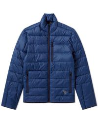 Paul Smith - Reflective Zebra Quilted Jacket - Lyst
