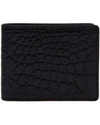 Dries Van Noten - Croc Billfold Wallet - Lyst