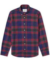 Portuguese Flannel - Philadelphia Button Down Check Shirt - Lyst