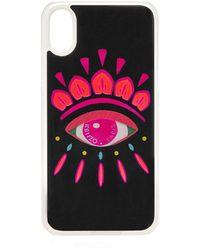 KENZO - Iphone X Eye Xmas Case - Lyst