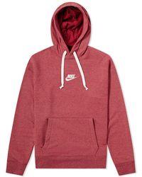 a0235eddba0e Lyst - Nike Club Hoodie in White for Men