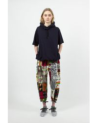 Engineered Garments - African Print Patchwork Balloon Pant - Lyst