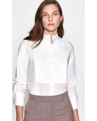 Equipment Beale Cotton Shirt - White
