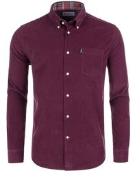 Barbour - Stapleton Morris Cord Tailored Shirt - Lyst