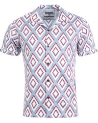 Ted Baker - Bloo Short Sleeve Shirt - Lyst