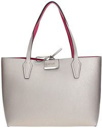 Guess Out Tote In Bag Bobbi Lyst White Inside vrqAvxE