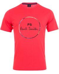 Paul Smith - Circle Print Logo T-shirt - Lyst