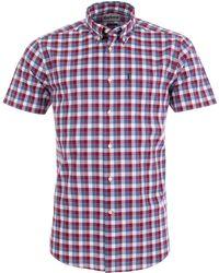 Barbour - Barge Short Sleeve Shirt - Lyst