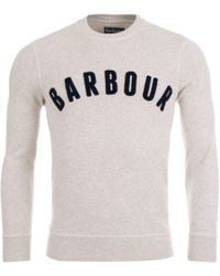 Barbour - Prep Logo Sweat - Lyst