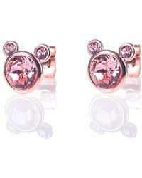Ted Baker - Adora Adorable Bear Earrings - Lyst