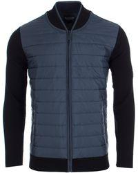 Barbour - Baffle Zip Through Jacket - Lyst