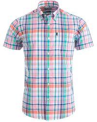 Barbour - Gerald Short Sleeve Shirt - Lyst