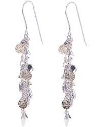 Karen Millen - Sunset Charm Earrings - Lyst