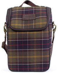 Barbour - Tartan Wine Cooler Bag - Lyst