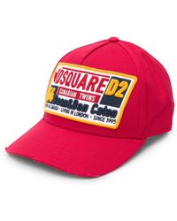 0219e1a083a Lyst - DSquared² Canadian Dreaming Patch Baseball Cap for Men