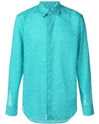 Maison Margiela - Wave Pattern Shirt - Lyst