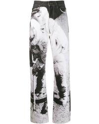 CALVIN KLEIN JEANS EST. 1978 High Rise Moon Landing Jeans - Black