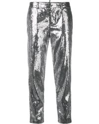 DSquared² - Sequin Skinny Trousers - Lyst