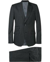 Gucci - Logo Pinstripe Formal Suit - Lyst