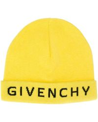 77dadfbb1d025 Givenchy Logo Beanie in Red for Men - Save 6% - Lyst