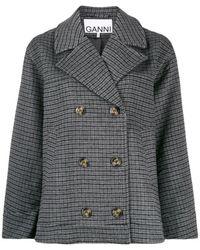 Ganni - Oversized Jacket - Lyst