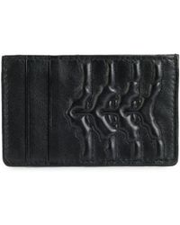 Alexander McQueen - Embossed Cardholder - Lyst