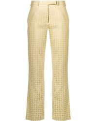Etro - Printed Tailored Trousers - Lyst