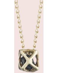 Erica Weiner - Caged Sapphire Necklace - Lyst