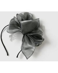 Evans - Grey Loop Fascinator - Lyst