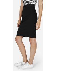 Everlane - The Stretch Ponte Tube Skirt - Lyst